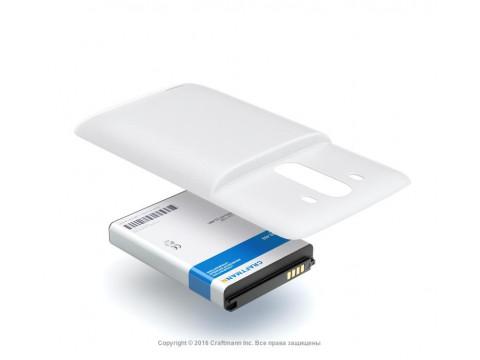 Аккумулятор для LG G3 D855 16GB повышенной емкости в комплекте с крышкой белого цвета