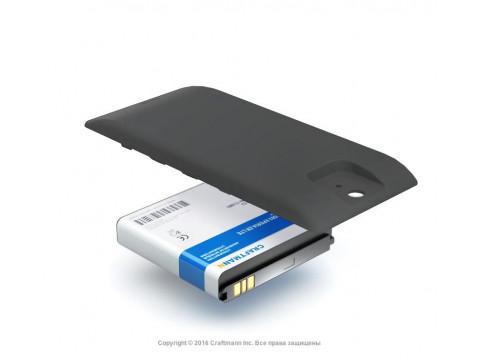 Аккумулятор для Sony Xperia ZR (C5502) повышенной емкости в комплекте с крышкой черного цвета